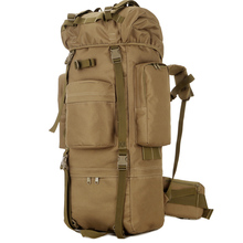 Outdoor Waterproof 80L Military Backpack Tactical Bag Sport Camping Hiking Travel Rucksack Hunting