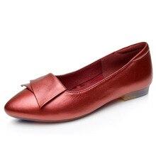 Nouveau 2017 Femmes En Cuir Véritable Chaussures Femmes Appartements Mode Casual Chaussures Conducteur Confortable Chaussures Femmes Mocassins Zapatos Mujer