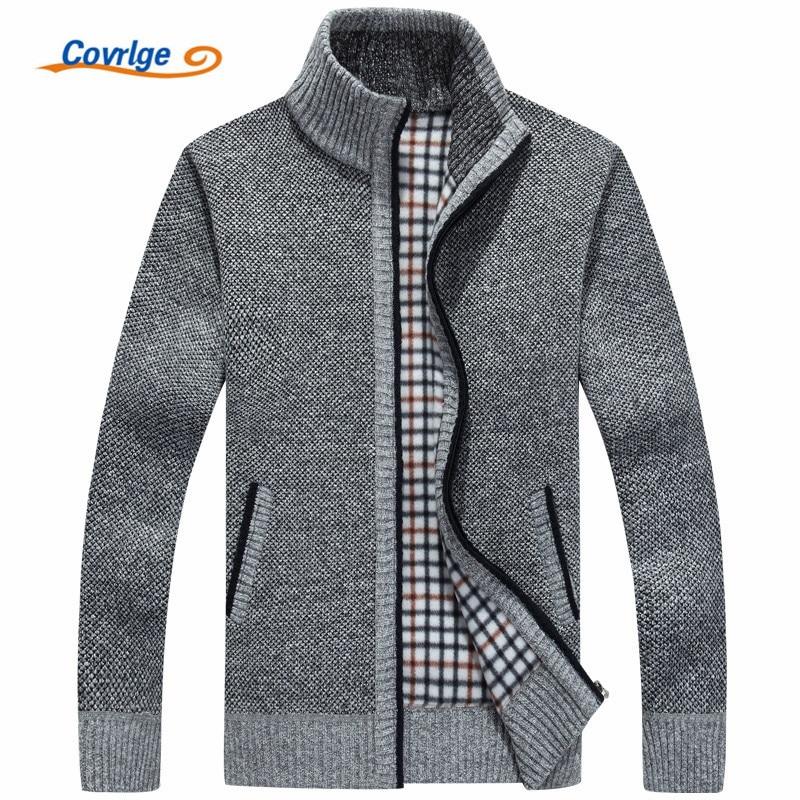 Covrlge Men's Turtleneck Sweater 2017 Wi