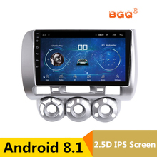 9″ Android 8.1 Car DVD Video Player GPS For Honda Fit/Jazz 2002-2007 left driver car radio stereo navigator bluetooth wifi