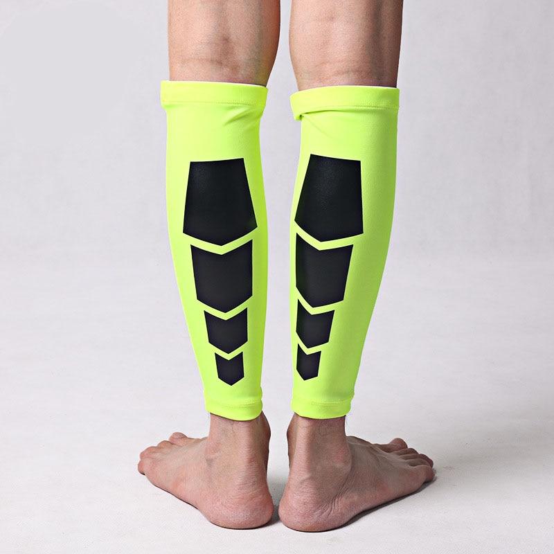 Cycling Clothings Breathable Lycra Basketball Legwarmers Outdoor Gaiters Soccer Sports Cycling Socks Hunting Football Calf Leg Warmers
