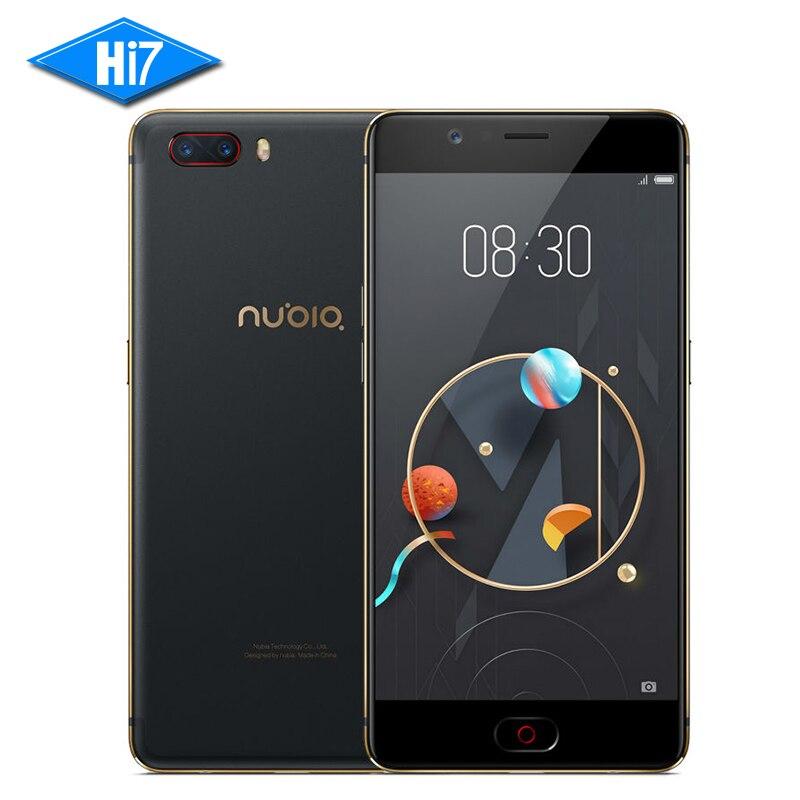 """bilder für Neue original zte nubia m2 handy msm8953 octa-core 5,5 """"Dual Hinten 13.0MP 3630 mAh Android Fingerprint ID 4G LTE Smartphone"""