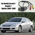 Cámara del coche para honda accord/inspire/spirior 2003 ~ 2007/trasero Cámara de visión/DVD GPS DVR CÁMARA/Luz de la Matrícula del OEM