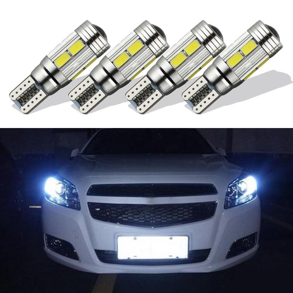 4Pcs LED αυτοκινήτου T10 Canbus W5W 10 SMD 5630 5730 - Φώτα αυτοκινήτων - Φωτογραφία 2