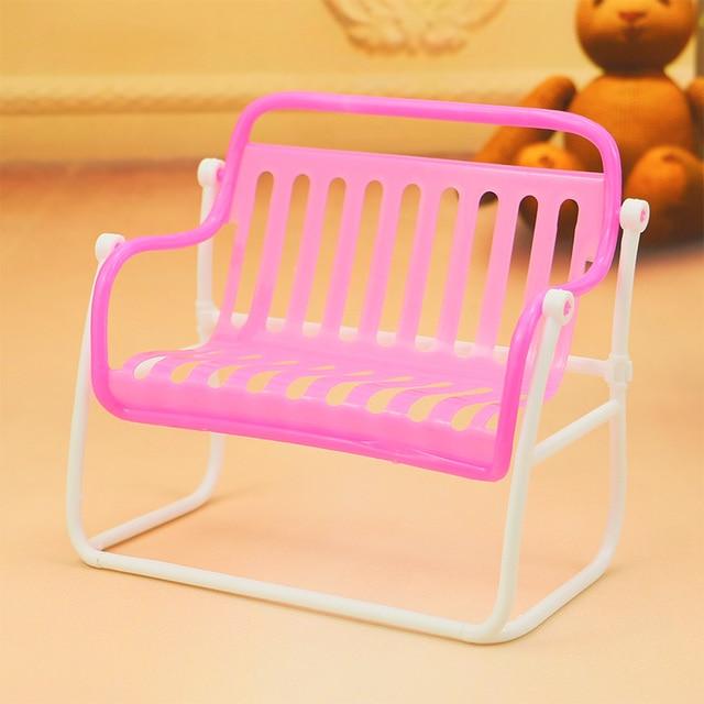 Dollhouse miniaturas muebles accesorios niños Silla de playa al aire ...