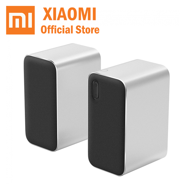 Xiaomi MI Computer Bluetooth Speaker Microphone Wireless Stereo Speaker Aux LED Indicator 12W 2.4GHz for PC Tablet mobile phone