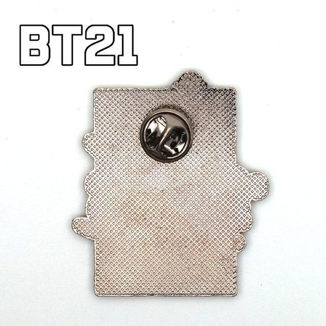 Брошка BTS BT21 к-поп 2