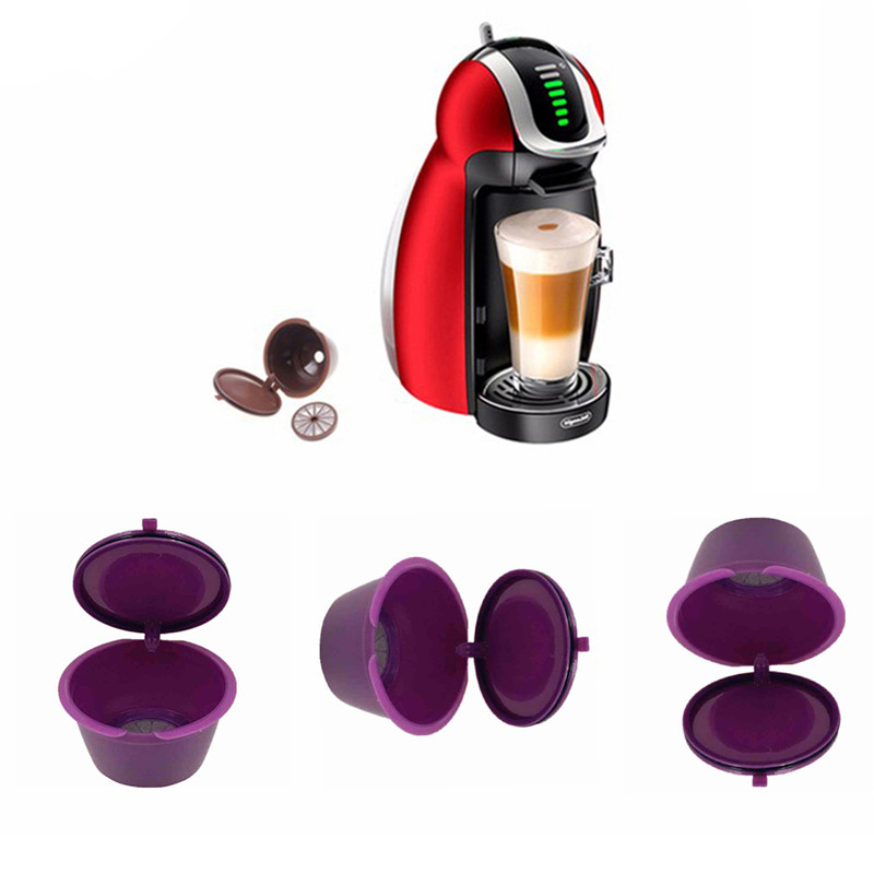 8colors refillable dolce gusto coffee capsule nescafe. Black Bedroom Furniture Sets. Home Design Ideas