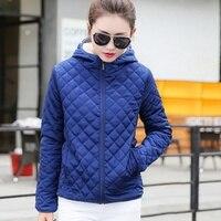 Hooded Fleece Women Winter Jacket 2017 New Arrival Casual Warm Long Sleeve Ladies Basic Pocket Coat
