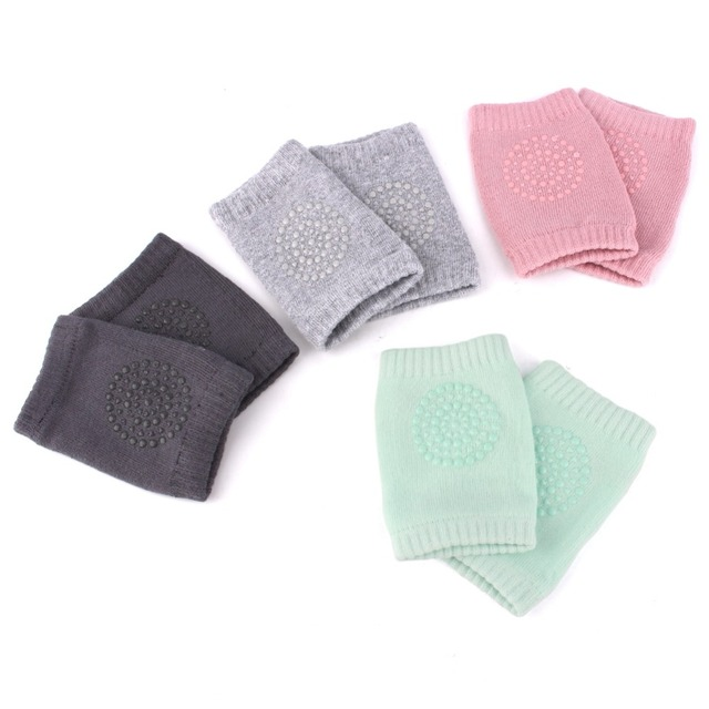 NEW 1 Pair baby knee pad Toddlers kids safety crawling elbow cushion infant baby leg warmer knee support protector baby kneecap