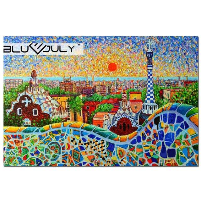 diamante pintura ponto cruz cenário diamante mosaico bordado cidade