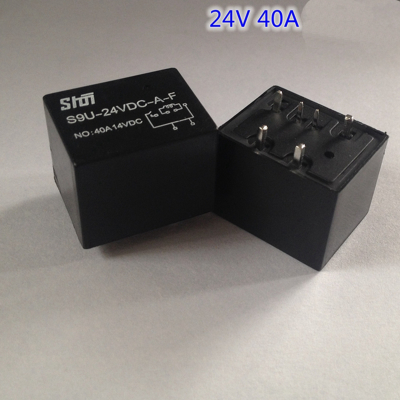 цена на S9U 4119 American small size 40A high current automotive relays 12V / 24V 6-pin relay