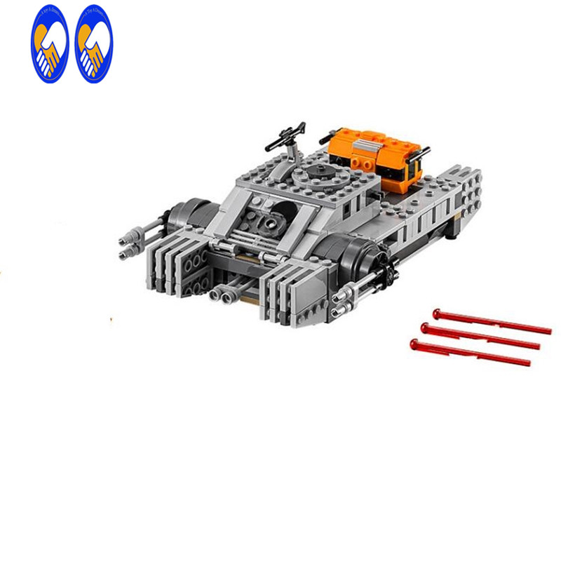 (A Toy A Dream)35012 buidling Blocks Rogue One:A StarWars Story Imperial Assault Hovertank 75152 Compatible Bricks Toy 35012 clone wars rogue one star space hovertank building bricks blocks sets kids toys compatible lepine 75152 starwars 2017