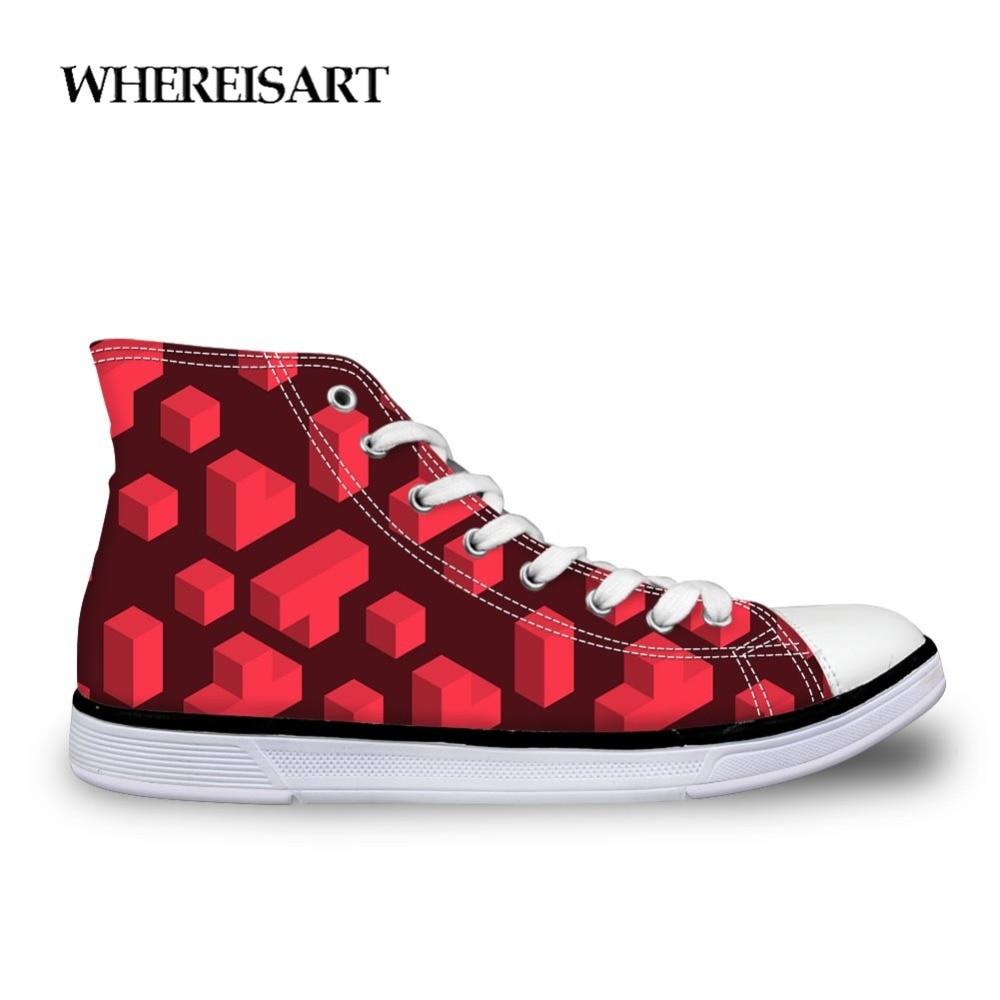 Chaussures toile homme haut de gamme jeu classique Tetris mode Chaussure Zapatos de Hombre chaussures toile homme Totem mode