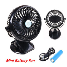 Portable Mini Usb Fan Ultra-quiet Cooling Fan Rechargeable Cooling Desk Laptop Fan Fexible Computer Fan Clip For Home Office