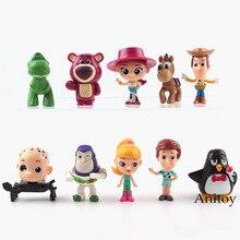 Juguete de dibujos animados historia Woody Buzz lightyear Jesse Rex  Bullseye lotso PVC figura de acción juguetes coleccionables . d1b6ef465fe