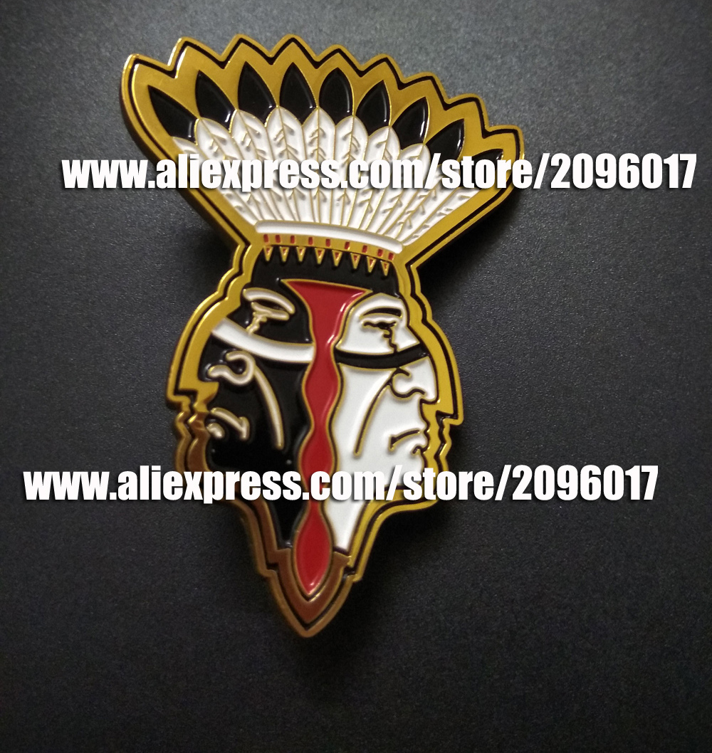 CUSTOMIZED MOTORCYCLE SKULL PINS BADGES BROOCHES FOR BIKER