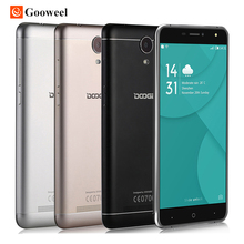 Doogee x7 pro 4g smartphone 6,0 zoll hd ips mtk6737 quad core Android 6.0 2 GB RAM 16 GB ROM 8MP Metallrahmen 3700 mAh handy