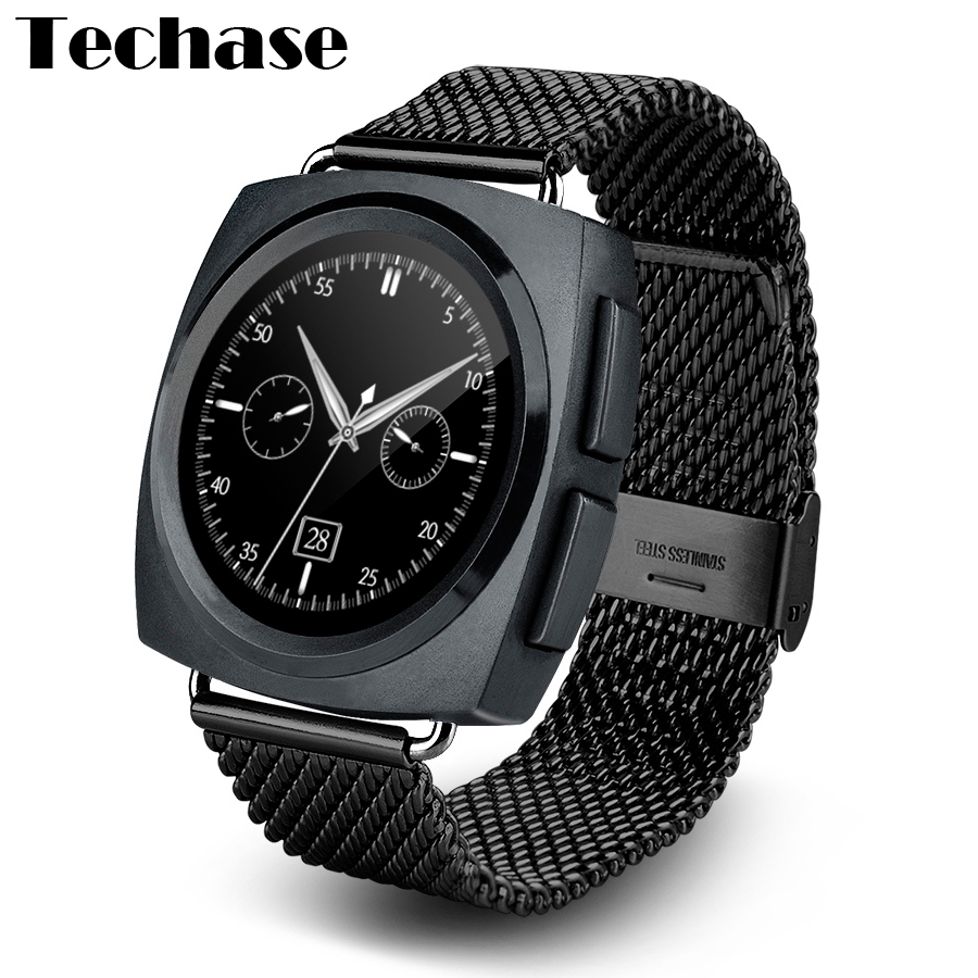 Techase 2017 Bluetooth Smartwatch MTK2502 Heart Rate