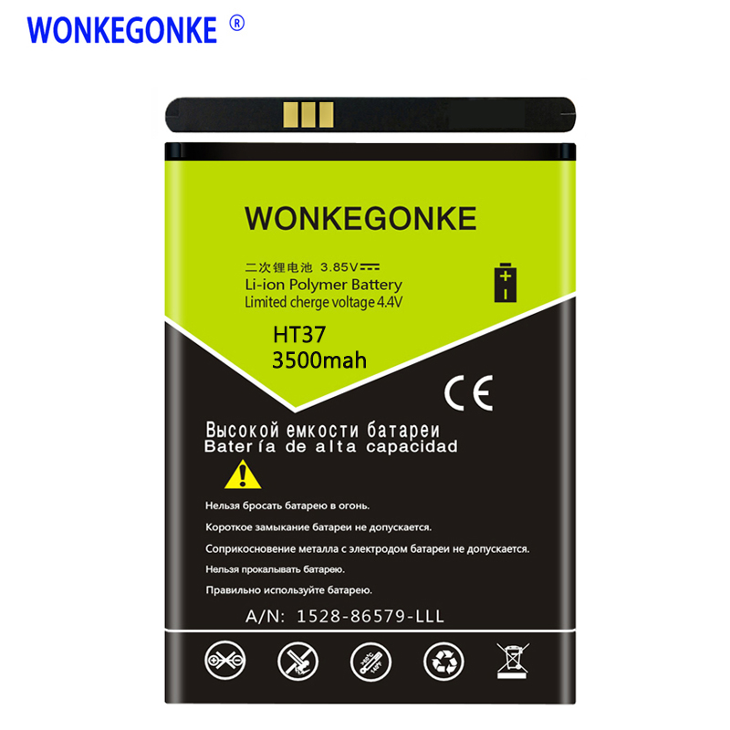 WONKEGONKE Battery For Homtom HT37 HT37 pro Mobile Phone Batteries  WONKEGONKE Battery For Homtom HT37 HT37 pro Mobile Phone Batteries