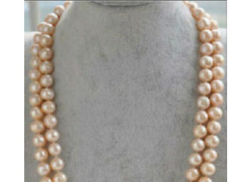 Charming 10-11 MM AAA Akoya SOUTH SEA White Pearl Necklace 14k Gold Clasp +