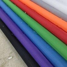 Livraison gratuite 1M * 1.5M poids léger 190T Polyester Tpu Composite autocollant imperméable tissu respirant Poly tente auvent tissu