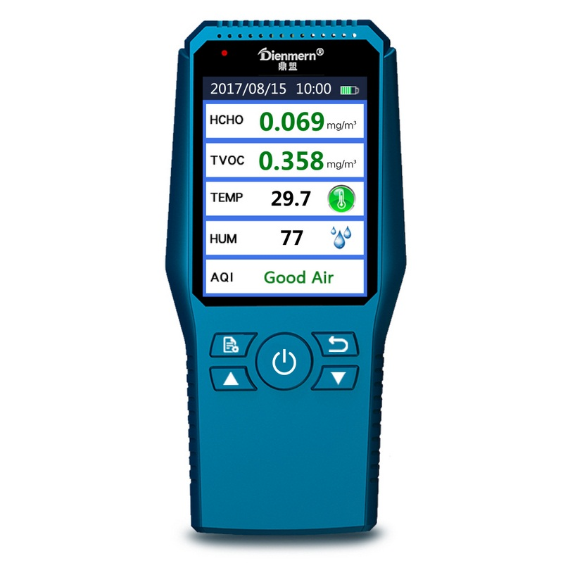 PM2.5 Air Quality Detector Digital Formaldehyde Detector Meter Formaldehyde Tester HCHO TVOC Sensor CO2 Detector Gas Analyzers все цены