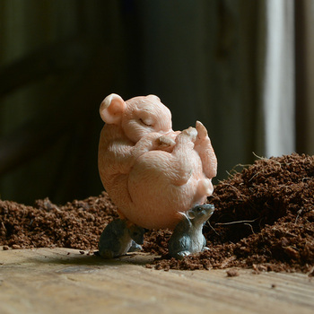 Home Decoration Pig Figurines Miniatures 1