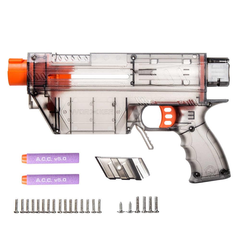 Werknemer Mod Prophecy Type-R Full-body Cover Shell DIY Kits voor Nerf Retaliator