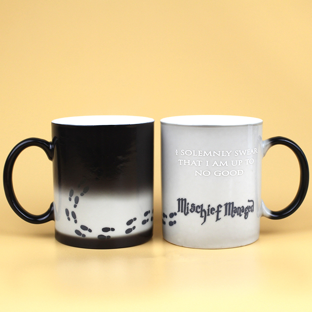 Marauders Map Mug Mischief Managed Mug Print I Solemnly Swear That I Am Up To No Good Coffee Cup For Friend Christmas Gift 1
