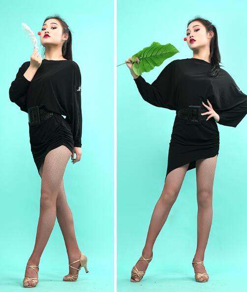 4fb159bc0a7f Novedad vestidos de baile Latino faldas latinas mujeres Chacha vestido de  baile Latino mujer rumba ...