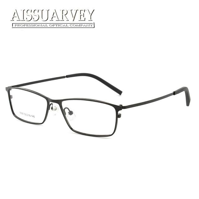 Optical Metal Eyeglasses Frames Men Fashion Simple Prescription ...
