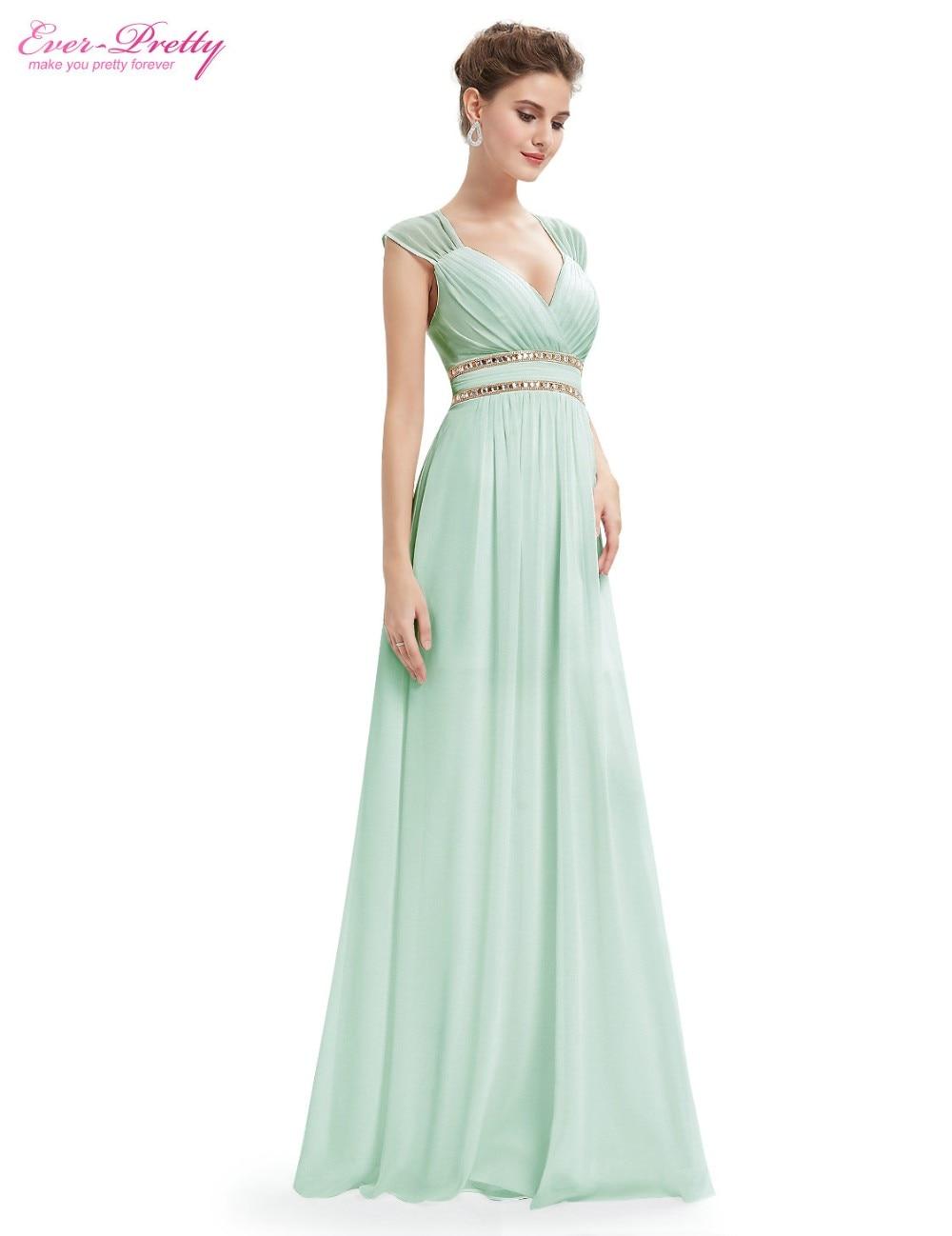 400073e3fbc6 Ever Pretty Evening dresses EP08697 Women's Beautiful Elegant Sexy Navy  Blue White V neck Long Prom Dresses 2016 New Arrival-in Evening Dresses  from ...