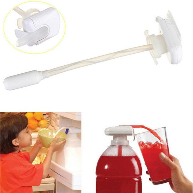 Super Power Magic Electric Automatic Tap Water Drink Beverage Dispenser Spillproof White  Ёмкости для напитков с краном