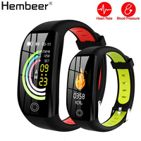 Touch Screen Smart Watch with Blood Pressure Heart Rate Fitnes Bracelet GPS Sports Watches IP68 Waterproof Watch High Quality