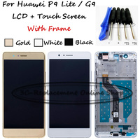 For Huawei P9 Lite G9 Lite VNS L22 VNS L31 VNS L53 LCD Display Touch Screen