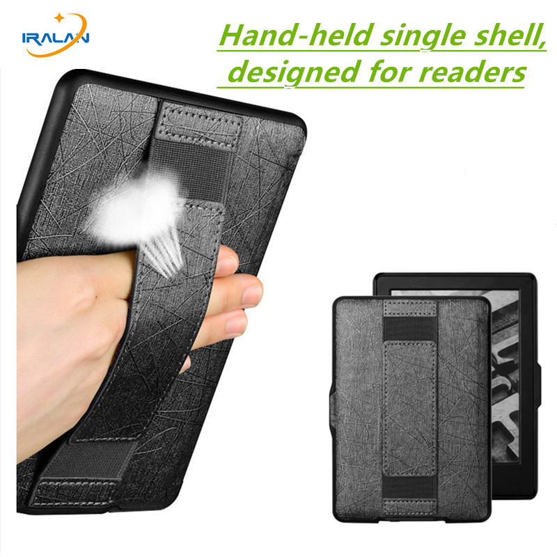 все цены на  New Hand-held single shell Leather Cover Case for Amazon Kindle Voyage 6 inch  eReader eBook Reader PU Leather Case+ Stylus Pen  онлайн
