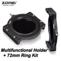Zomei filtro titular + 72-72mm anillo adaptador para cokin z-pro Lee Tiffen HiTech kood Singh rayos 4x5