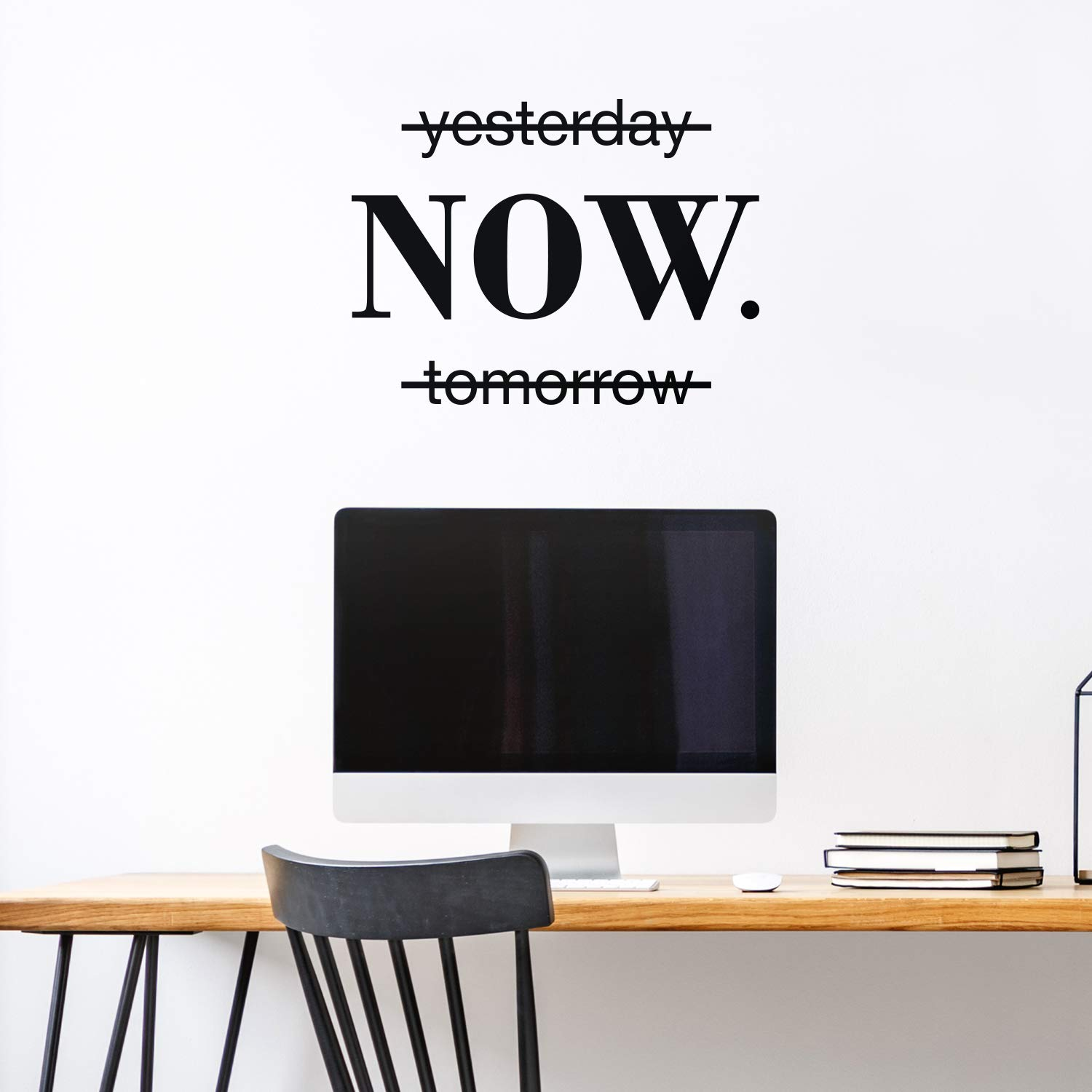 Now Quotes Motivational Sentence Wall Sticker Art Decals Office Wall Stickers For Kids Rooms Nursery Room Decoration Wallpaper