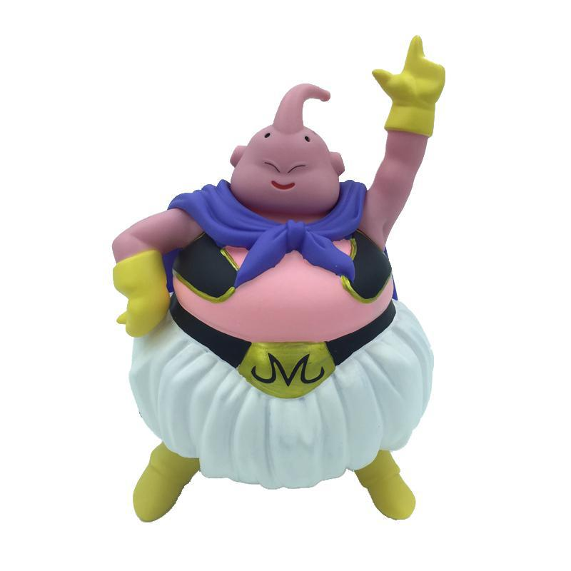 22CM Anime Dragon Ball Z Majin Buu Gotenks PVC Action Figures Model Collection Toy Free Shipping