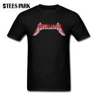 Cool Tees Tops 3D Metallica Hard Metal Rock Band Male Slim Fit Tee Shirt Hip Hop