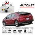 JiaYiTian Rückansicht Kamera für Chevrolet Volt/für Holden Volt/für Opel Ampera 2011 ~ 2018 CCD Nacht vision Lizenz Platte Kamera