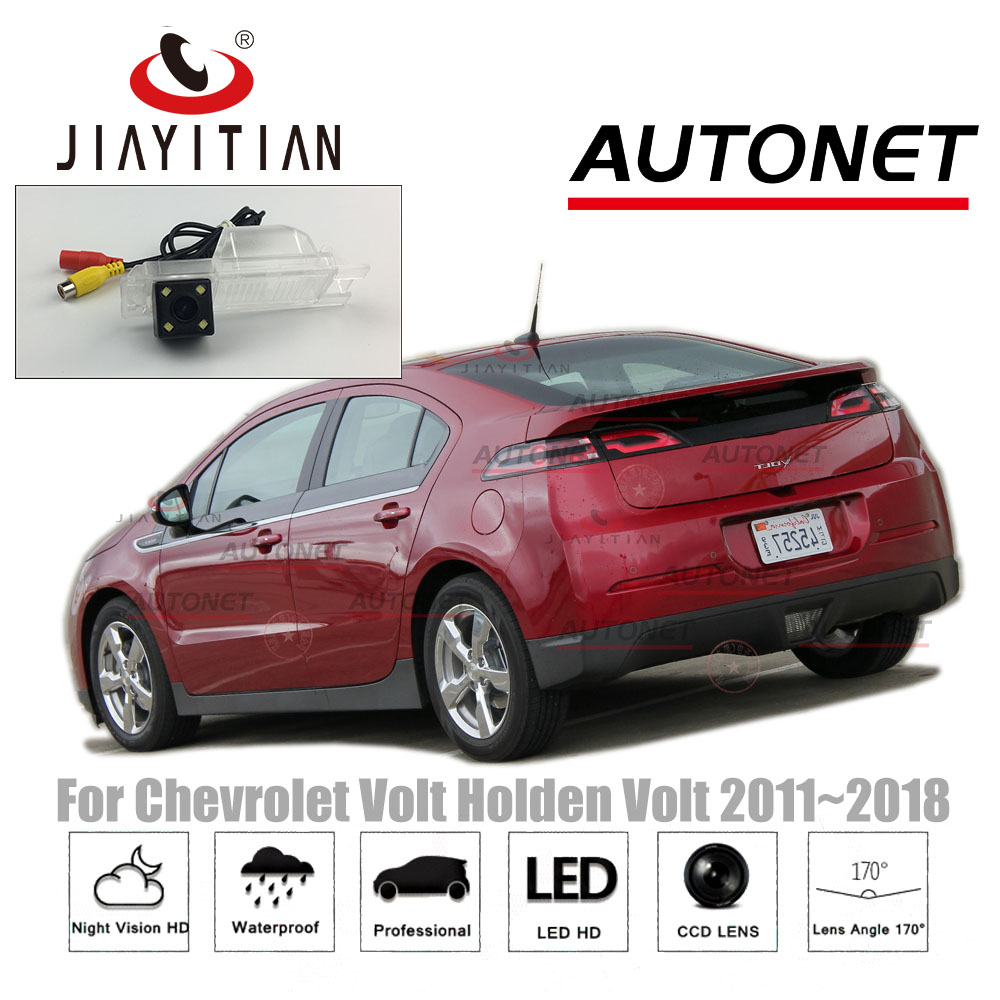 JiaYiTian Rear View Camera For Chevrolet Volt/for Holden Volt/for Opel Ampera 2011~2018 CCD Night Vision License Plate Camera