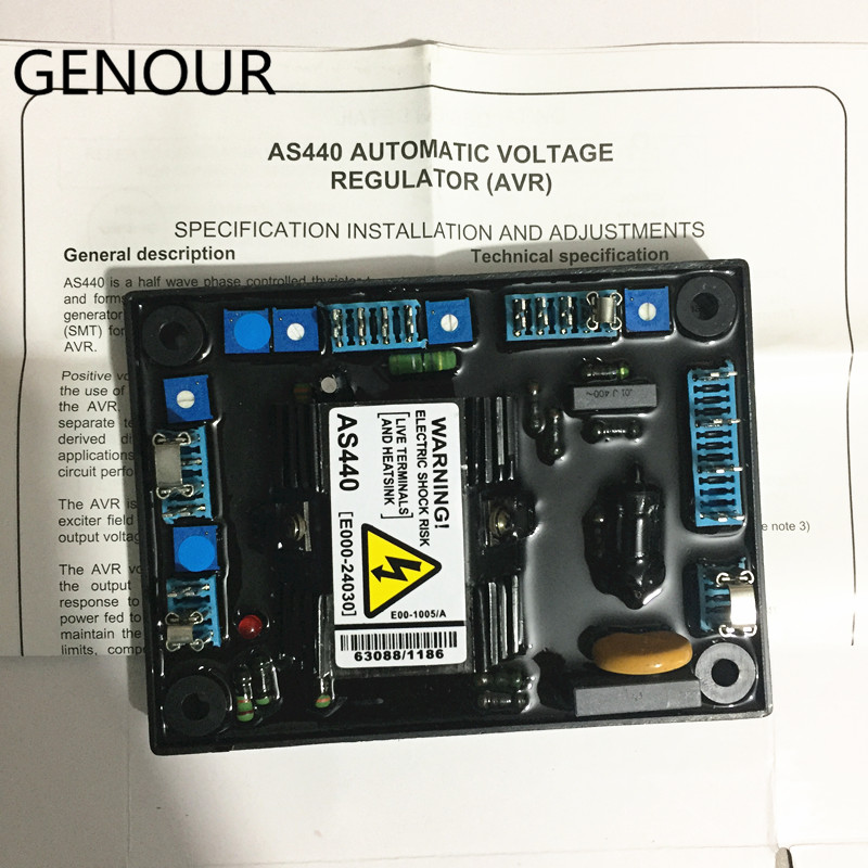 Image 2 - AS440 AVR for brushless alternator high quality generator spare part voltage regulator automatic-in Generator Parts & Accessories from Home Improvement