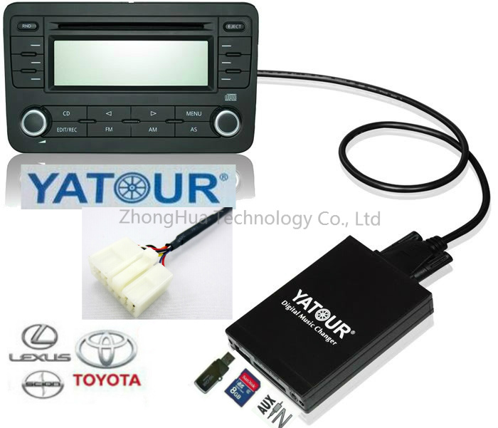 Adapter Usb Sd Aux Mit Bluetooth: Aliexpress.com : Buy Yatour Digital Music Car CD Changer