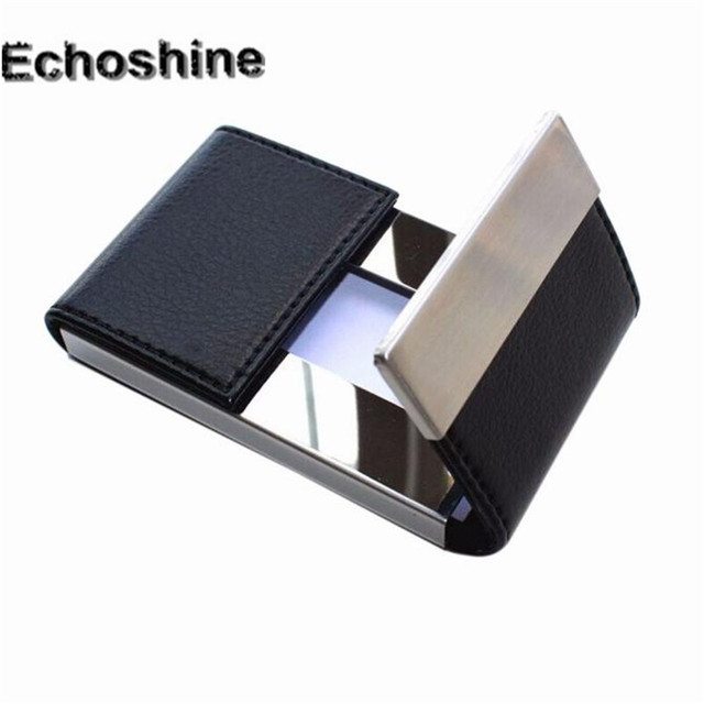 9106bdbe0d3 2016 hot sale mulit- color Credit Card Package Card Holder Double Open  Business Card Case gift wholesale A0000