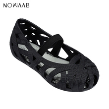 Mini Melissa 2019 New Girls Shoes Crystal Jelly Sandals Chil