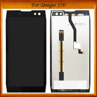 5.7 inch For Doogee S50 LCD Display+Touch Screen 100% Working Well Screen Digitizer Assembly Replacement Black Color IN Stock