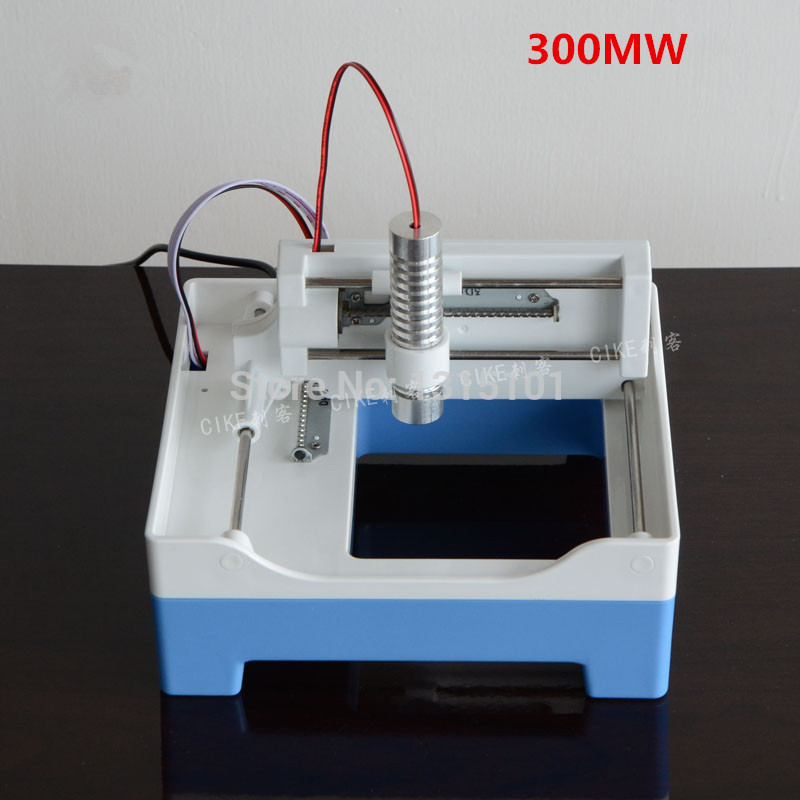 High quality 300MW Laser engraving machine, Automatic carving , 300mw Laser Mini laser engraver 1pcs
