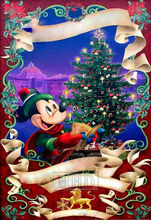 cartoon mickey mouse christmas tree 5d diy diamond painting kit new arrival square full drill 3d